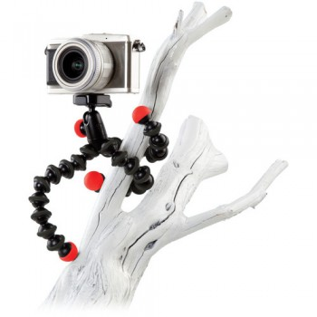 Joby GorillaPod Hybrid Flexible Mini-Tripod with Ball Head (Red/Black)