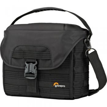 Lowepro ProTactic SH 180 AW Shoulder Bag for a DSLR Camera & Lenses (Black)