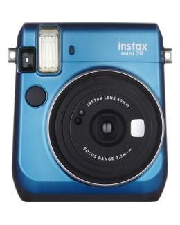 Fujifilm Instax Mini 70 Instant Film Camera (Blue) + Fujifilm Instax Mini Twin Pack Film (20 pcs) (Fujifilm Malaysia)