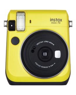 Fujifilm Instax Mini 70 Instant Film Camera (Yellow) + Fujifilm Instax Mini Twin Pack Film (20 pcs) (Fujifilm Malaysia)