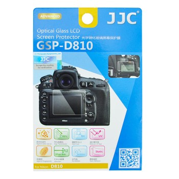 JJC GSP-D810 Ultra-thin Optical Glass Screen Protector for Nikon D810