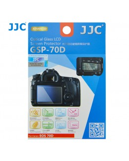 JJC GSP-70D Ultra-thin Optical Glass Screen Protector for Canon EOS 70D / 80D