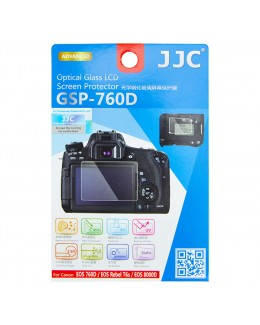 JJC GSP-760D Ultra-thin Optical Glass Screen Protector for Canon EOS 760D