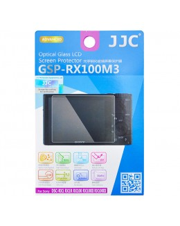 JJC GSP-RX100M3 Ultra-thin Optical Glass Screen Protector for Sony RX100 / RX100II / RX100III / RX100IV / RX1 / RX1R