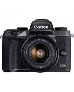Canon EOS M5 Mirrorless Digital Camera with 15-45mm Lens (Canon Malaysia)