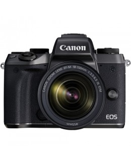 Canon EOS M5 Mirrorless Digital Camera with 18-150mm Lens (Canon Malaysia)
