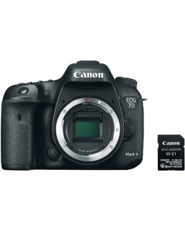 Canon EOS 7D Mark II DSLR (Body Only) with W-E1 Wi-Fi Adapter (Canon Malaysia)