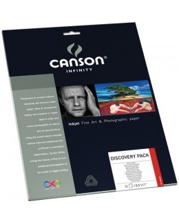 """Canson Infinity Discovery Pack (A4 8.5 x 11"""", 12 Sheets)"""