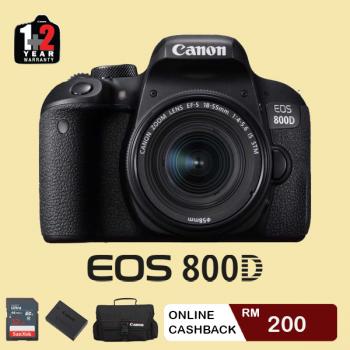 Canon EOS 800D Body (Canon Malaysia)