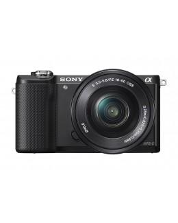 Sony Alpha a5000 Mirrorless Digital Camera with 16-50mm Lens Black