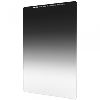 NiSi 100x150mm Nano Soft-Edge Graduated IRND 0.9 Filter (3-Stop)