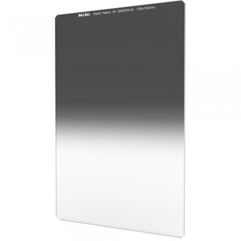 NiSi 100 x 150mm Nano Hard-Edge Graduated IRND 0.9 Filter (3 Stop)